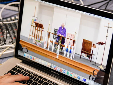 Bringing Sunday Mass Online with Br Pat