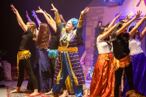 A Magical Performance at GSCC's Aladdin Pantomime