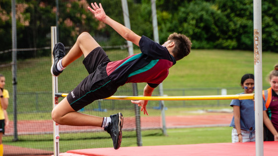House Spirit on track at the 2021 Athletics Carnival