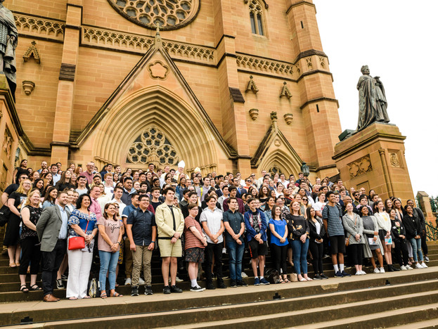ACYF Commissioning Mass at St Mary's Cathedral