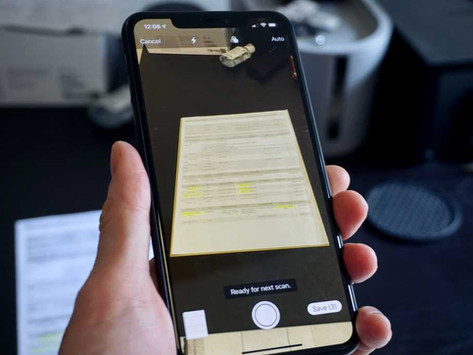 Step-by-step guide to scanning documents with the Notes App on iOS