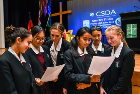 CSDA Debating Quarter Finals at GSCC