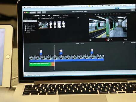 DEMONSTRATE SKILLS & EXPERIENCES WITH IMOVIE
