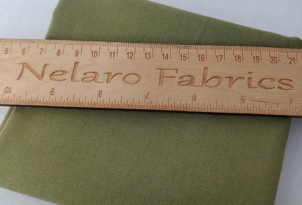 Linen Blend Jungle green (2) fabric by Robert Kaufman