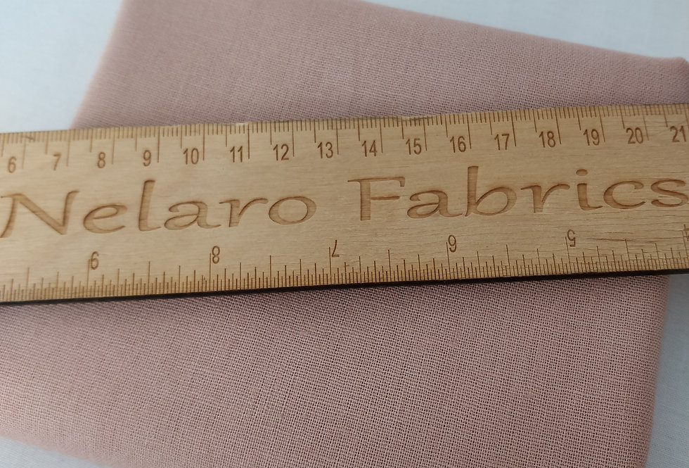 Essex Linen Blend Rose (2) fabric by Robert Kaufman