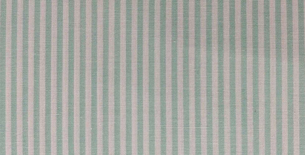 Stripes light green fabric by John Louden