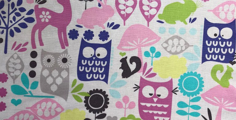Forest Life Animals fabric by Michael Miller