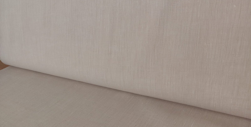 Limerick 100% Linen Natural fabric by Robert Kaufman
