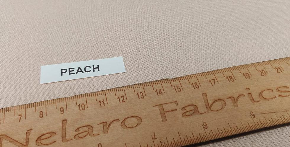 Essex Linen Blend Peach fabric by Robert Kaufman