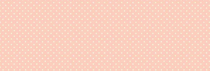 Cheeky Pink Spots / Dots by Makower