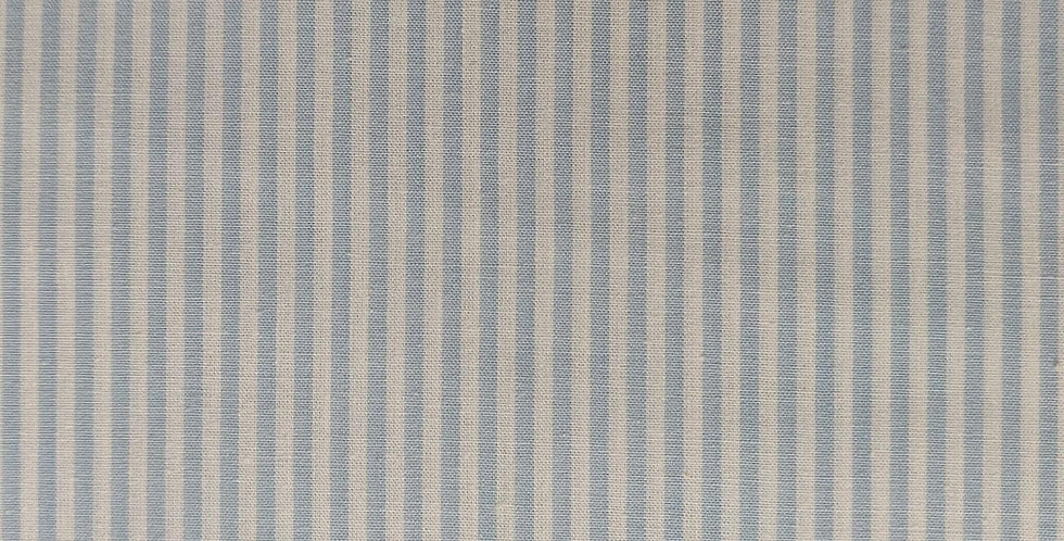 Stripes light blue fabric by John Louden