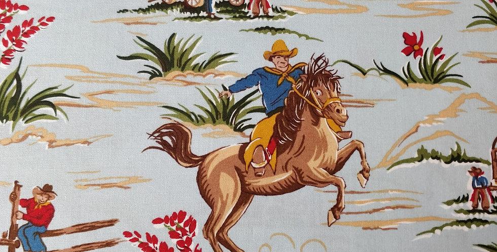 Barn Dandys Cowboy fabric by Robert Kaufman