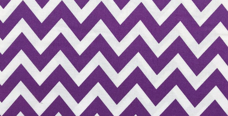 Remix Chevron Zig-zag purple fabric by Robert Kaufman