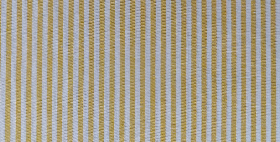 Stripes yellow fabric by John Louden