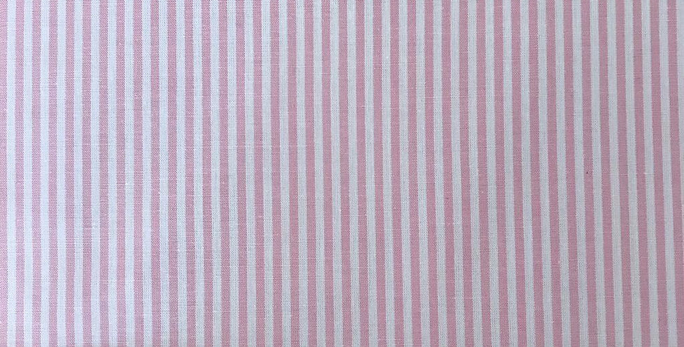 Stripes pink fabric by John Louden