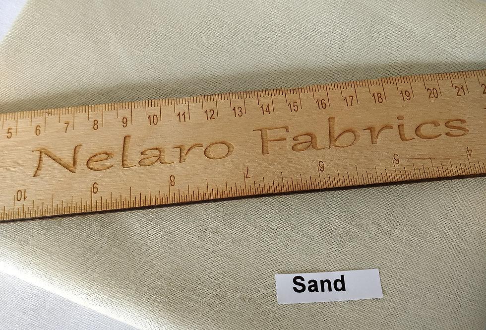 Essex Linen Blend Sand fabric by Robert Kaufman