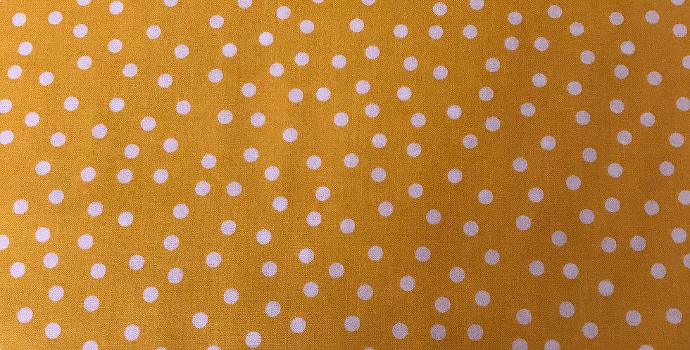 Remix Dots Summer yellow fabric by Robert Kaufman