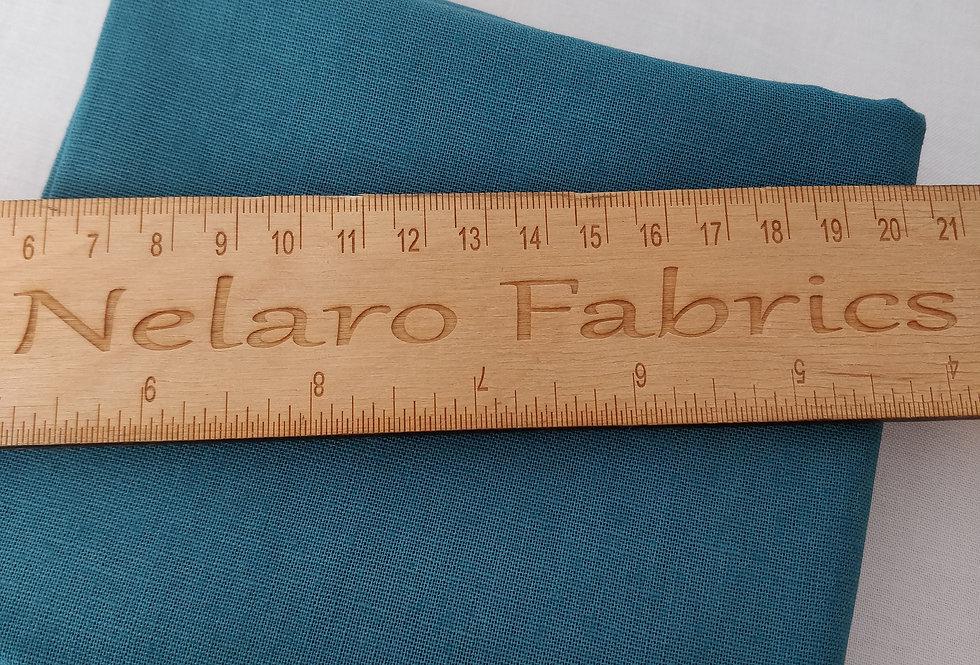 Linen Blend Teal (2) fabric by Robert Kaufman