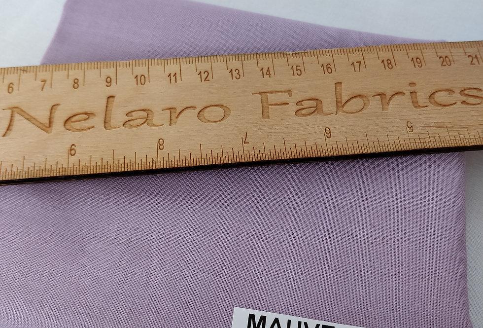 Spectrum Plain Mauve Mist Solid fabric by Makower