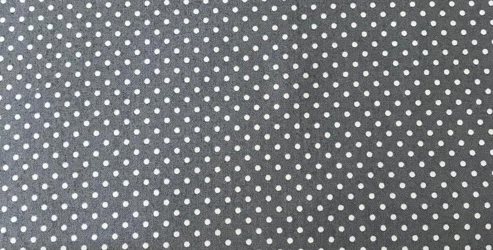 Cheeky Grey Spots / Dots by Makower