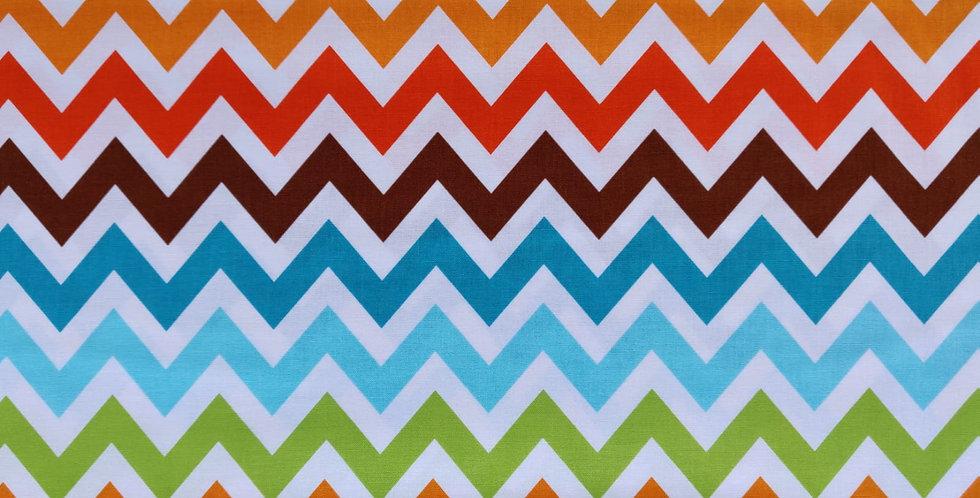 Remix Chevron Zig-zag Bermuda fabric by Robert Kaufman