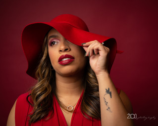 All Red Session with Beauty by Ashley Delgado | Lighting Tips