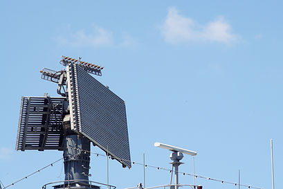 military radar air surveillance on navy