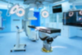 Equipment and medical devices in hybrid