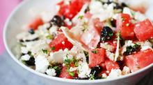 Watermelon, Feta, and Kalamata Olive Salad