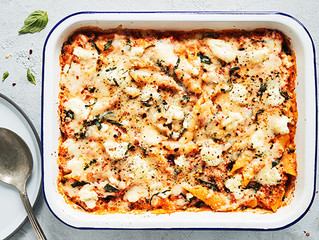 Baked Ziti With Spinach