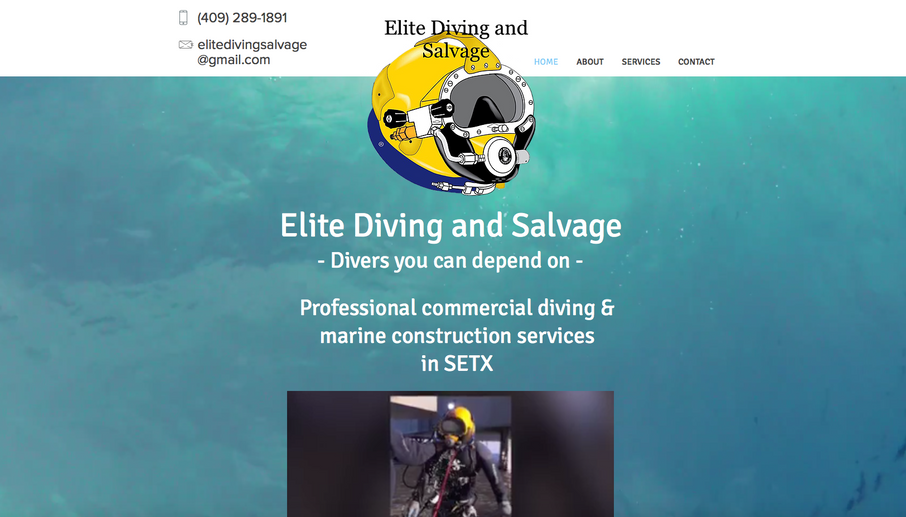 This customer was turned down multiple times by other companies, because he needed his site up that night. I gladly accepted the challenge and had him up and running before he even expected. I created exactly what he wanted a 1-page website with an underwater effect that displayed his services and gallery which he could add to regularly.