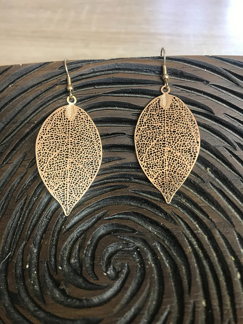 Leaf Drop Earrings
