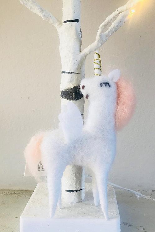 """""""Una Sparkles"""" Woollen Unicorn"""