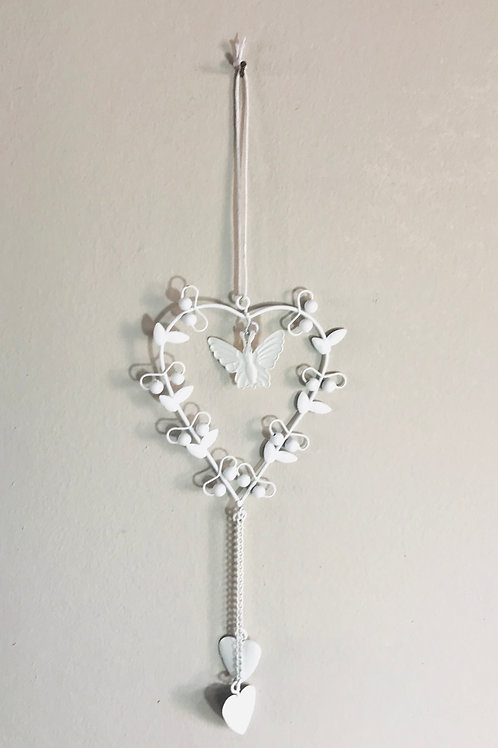 Hanging Heart/Butterfly Decoration