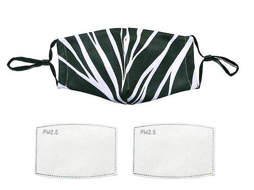 Zebra Print Reuseable Face mask