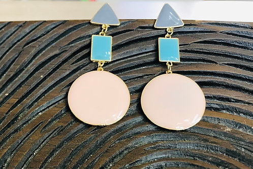 Circle Geo Earrings