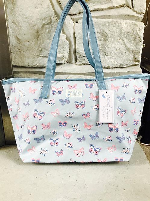 Butterfly Large Shopper/Overnight Bag