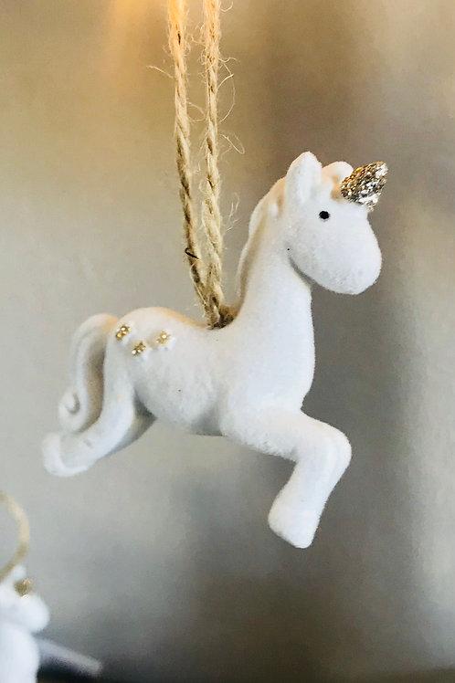 Prancing Unicorn Decoration