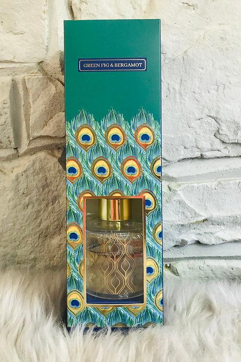 Peacock Reed Diffuser - Green Fig & Bergamot