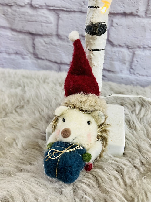 'Harley' Christmas Hedgehog
