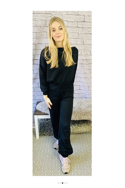 Loungewear Set in Black
