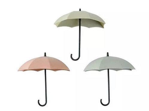 Umbrella Hooks in Pink, Green & Cream