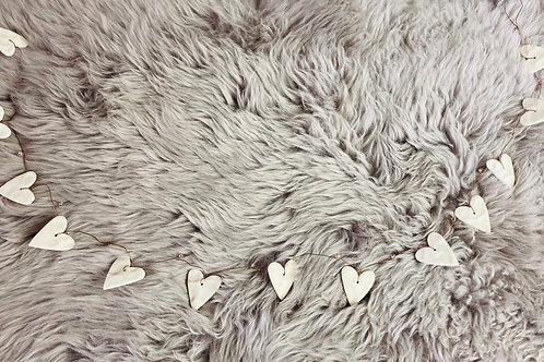 Clay Heart Garland