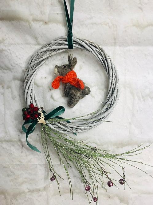 Cute Bunny Wreath
