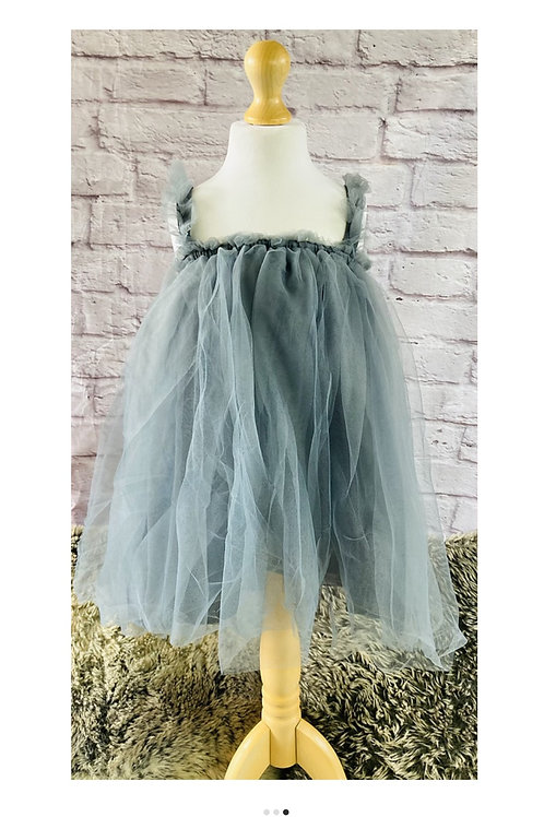 Beautiful Tulle Dress in Grey