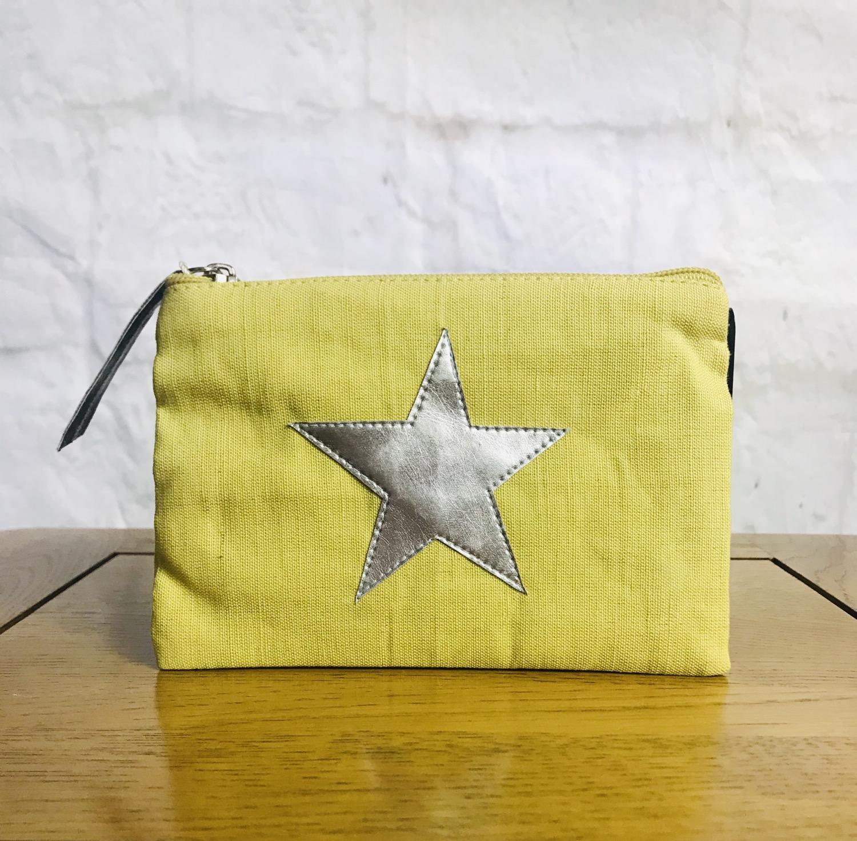 Yellow Star Purse