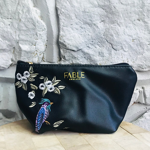 Bird Design Make Up Bag (Small)