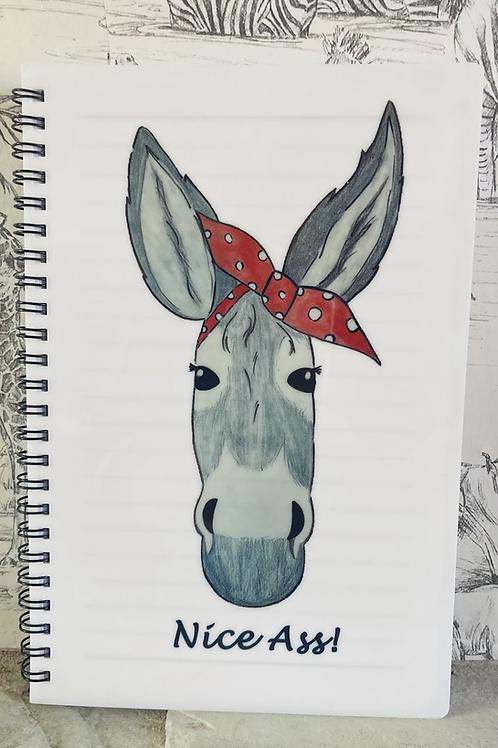 'Nice Ass' Deedee Donkey A5 Notebook