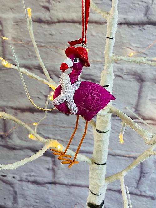 'Mrs Flamingo' Hanging Decoration