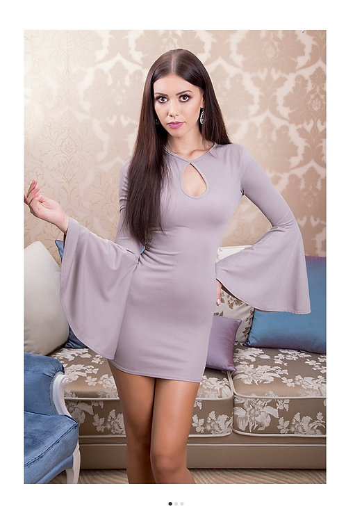 Bell Sleeve Bodycon Dress
